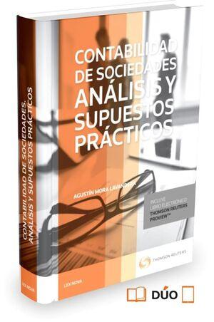 CONTABILIDAD DE SOCIEDADES. ANÁLISIS Y SUPUESTOS PRÁCTICOS