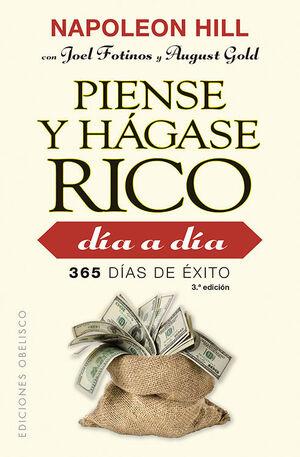 PIENSE Y HAGASE RICO DIA A DIA (BOLSILLO)