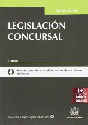 (21ª) LEGISLACIÓN CONCURSAL (EDICIÓN 2016)