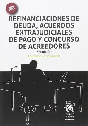 REFINANCIACIONES DE DEUDA, ACUERDOS EXTRAJUDICIALES DE PAGO Y CONCURSO DE ACREED