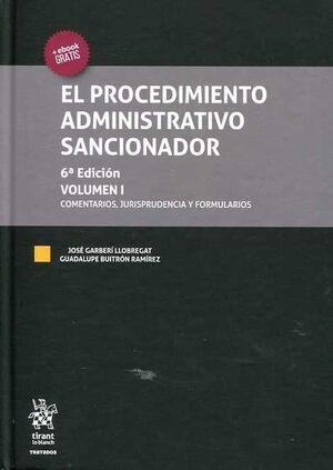 EL PROCEDIMIENTO ADMINISTRATIVO SANCIONADOR 2 VOL.