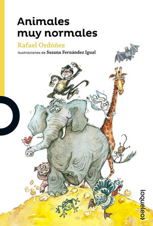 ANIMALES MUY NORMALES.LOQUELEO AMARILLO-INF-RUST