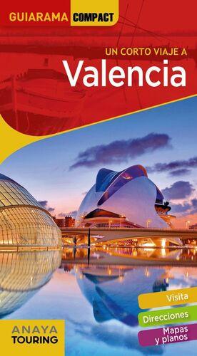 VALENCIA.UN CORTO VIAJE.GUIARAMA COMPACT.ED19.ANAYA TOURING