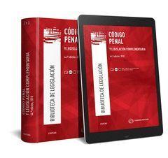 CODIGO PENAL Y LEGISLACION COMPLEMENTARIA (PAPEL + E-BOOK)