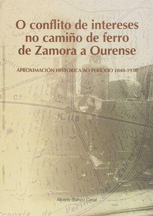 CONFLITO DE INT.NO CAMIÑO DE FERRO DE ZAMORA A OUR