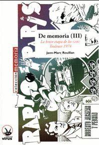 DE MEMORIA (III)