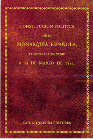 CONSTITUCION POLITICA DE MONARQUIA ESPAÑ