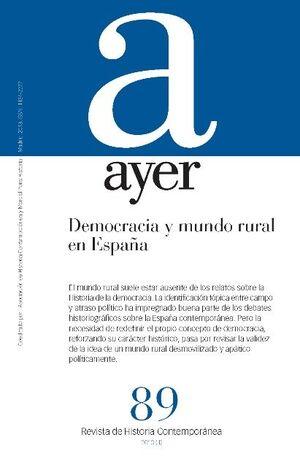 REVISTA AYER N 89