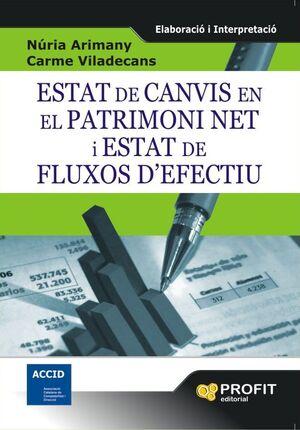 ESTAT DE CANVIS EN EL PATRIMONI NET I ESTAT DE FLUXOS D¿EFECTIU