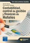 CONTABILIDAD, CONTROL DE GESTION Y FINANZAS DE HOTELES.PROFIT