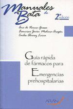 GUIA RAPIDA DE FARMACOS PARA EMERGENCIAS PREHOSPITALARIAS