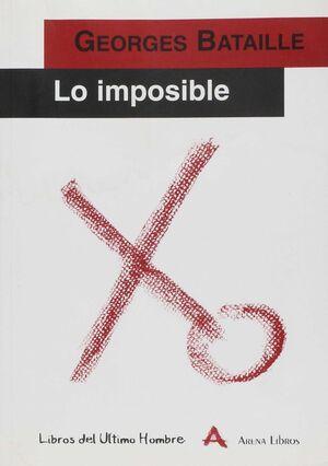 IMPOSIBLE, LO .ARENA LIBROS