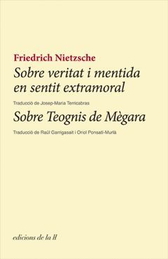 SOBRE VERITAT I MENTIDA EN SENTIT EXTRAMORAL/ SOBRE TEOGNIS DE MAGARA.ELA GEMINADA-RUST