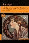 MUJERES EN LA HISTORIA. 1800-1940.