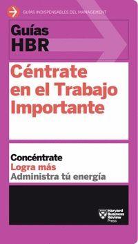 CENTRATE EN EL TRABAJO IMPORTANTE