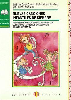 NUEVAS CANCIONES INFANTILES.ALJIBE-RUST