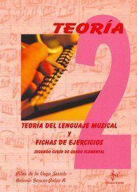 TEORIA DEL LENGUAJE MUSICAL Y FICHAS DE EJERCICIOS, 2 GRADO ELEMENTAL
