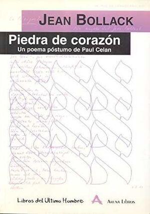 PIEDRA DE CORAZON.ARENA LIBROS