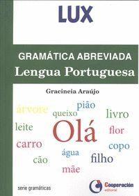 GRAMÁTICA ABREVIADA LENGUA PORTUGUESA