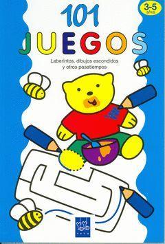 101 JUEGOS.3-5 AÑOS.YOYO-INF