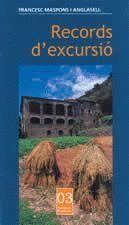 RECORDS D'EXCURSIO.PIONERS-3-COSSETANIA