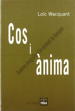 COS I ANIMA.EDIC 1984-RUST