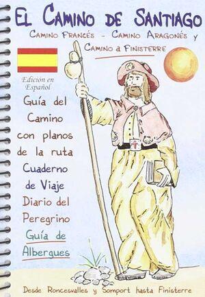 EL CAMINO DE SANTIAGO - GUÍA DEL CAMINO Y CUADERNO DE VIAJE