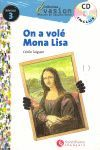 EVASION NIVEAU 3  ON A VOLE MONA LISA + CD