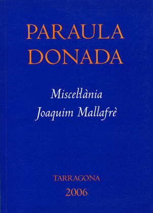 PARAULA DONADA