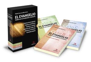 ESTUCHE TRILOGÍA EVANGELIO LEÍDO EN LA TRADICIÓN CRISTIANA