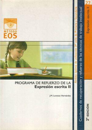 COMPRENSION ESCRITA II.EOS