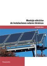 MONTAJE ELECTRICO DE INSTALACIONES SOLARES TERMICAS