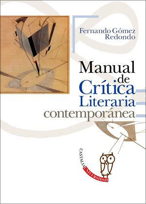 MANUAL DE CRITICA LITERARIA CONTEMPORANEA