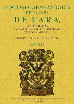 HISTORIA GENEALÓGICA DE LA CASA DE LARA (TOMO 1)