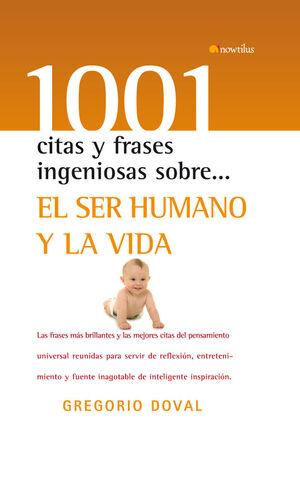 EL SER HUMANO Y LA VIDA