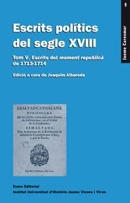 ESCRITS POLITICS DEL SEGLE XVIII