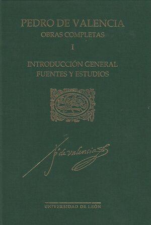 OBRAS COMPLETAS. I. INTRODUCCIÓN GENERAL, FUENTES Y ESTUDIOSJ