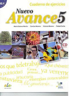 NUEVO AVANCE-5 B2.1EJERCICIOS+CD.CURSO ESPAÑOL.ELE.SGEL