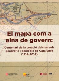 EL MAPA COM A EINA DE GOVERN: CENTENARI DE LA CREACIÓ DELS SERVEIS GEOGRÀFIC I G