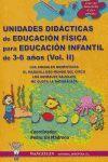EDUCACION FISICA, EDUCACION INFANTIL, 3-6 AÑOS.VOL 2. UNIDADES DIDACTICAS IIWANCELEN