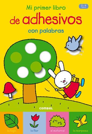 MI PRIMER LIBRO DE ADHESIVOS CON PALABRAS