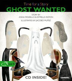 GHOST WANTED. TIME FOR A STORY-LEVEL 5 (+ CD)