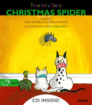 CHRISTMAS SPIDER. TIME FOR A STORY-LEVEL 5 (+ CD)