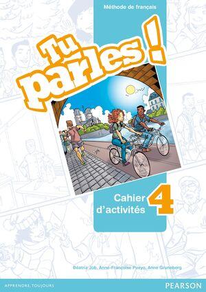 TU PARLES ! 4 PACK CAHIER D'ACTIVITÉS