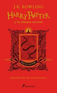 HARRY POTTER Y LA CAMARA SECRETA (EDICION GRYFFINDOR DEL 20º ANIVERSARIO) (HARRY