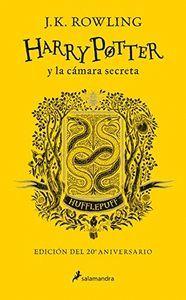 HARRY POTTER Y LA CAMARA SECRETA (EDICION HUFFLEPUFF DEL 20º ANIVERSARIO) (HARRY