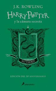 HARRY POTTER Y LA CAMARA SECRETA (EDICION SLYTHERIN DEL 20º ANIVERSARIO) (HARRY
