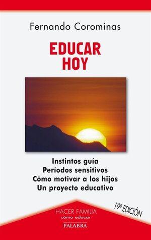 EDUCAR HOY 18ªED. ED.PALABRA