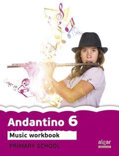 PROJECT FARO, ANDANTINO, MUSIC, 6 EDUCACIÓN PRIMARIA, 3 CICLE. WORKBOOK