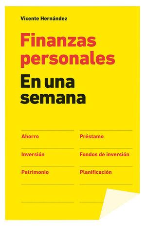 FINANZAS PERSONALES. GESTION 2000